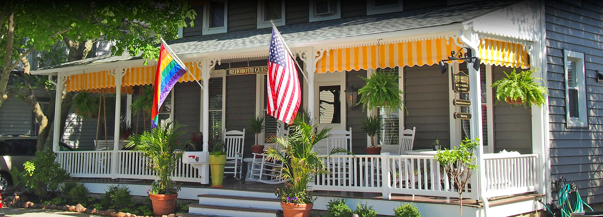Rehoboth guest house a charming rehoboth beach guest house for Rehoboth house